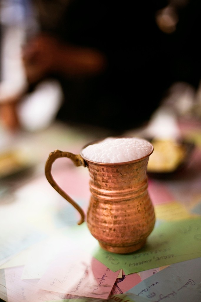 Ayran...a delicous Turkish Yogurt Drink!
