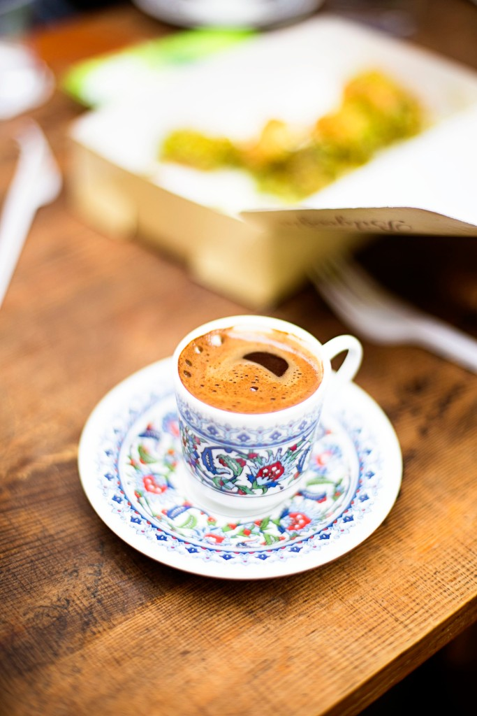 Cant leave without a turkish coffee!!