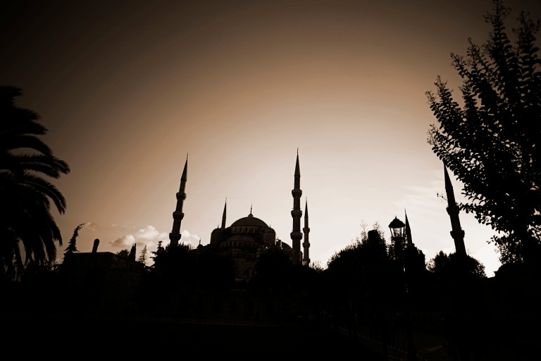 Blus Mosque at dawn
