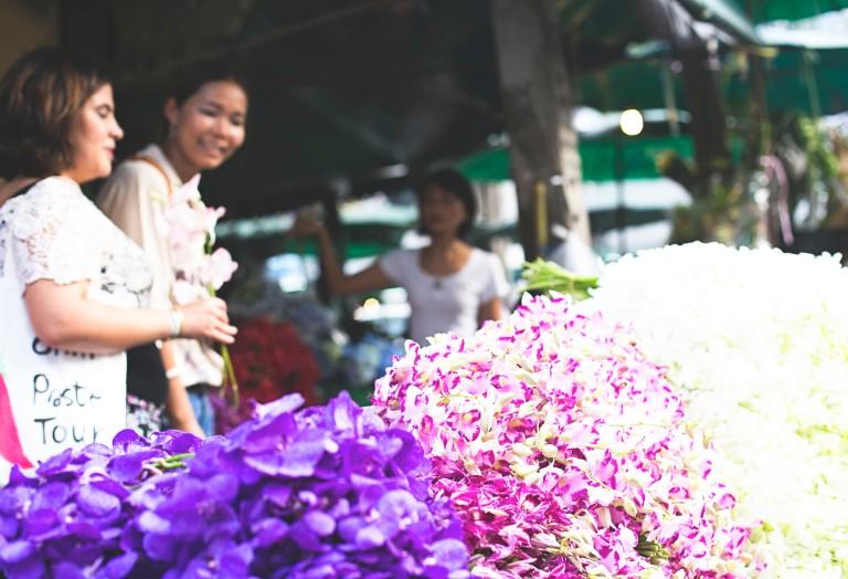 Bangkok- Flower Market